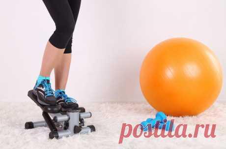 Степпер для похудения: эффективность тренажёра и программа занятий