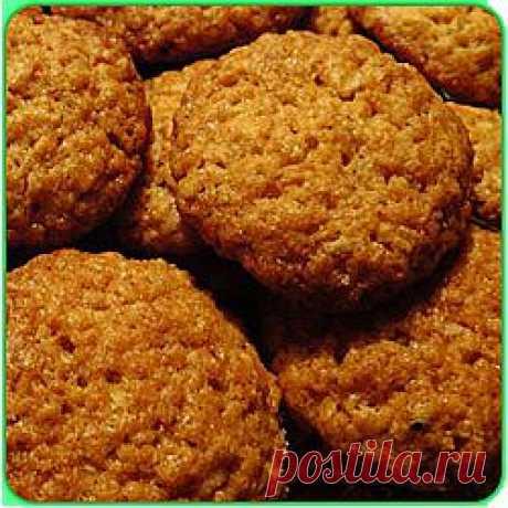 Как прготовить вкусное овсяное печенье дома!!! Вкусно, легко, быстро!!!.