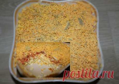 Салат с красной рыбой Автор рецепта Ольга - Cookpad
