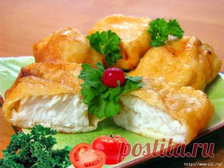 Для любой рыбы, мяса и капусты-луковый кляр