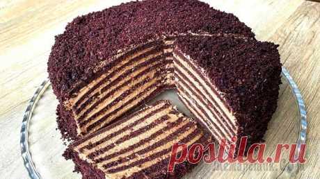 Без раскатки коржей! На сковороде! Бархатный торт с кремом «Мороженое» Торт без духовки, с бархатистыми коржами и кремом со вкусом Мороженого! Что может быть вкуснее?? Скорее готовьте – вы не пожалеете!ИнгредиентыТесто Яйца – 4 шт.Сахар – 90 гр. (3-4 ст.л.)Ванильный саха...