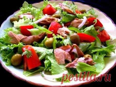 Десятка легких салатов для вкусного ужина / Необычные поделки