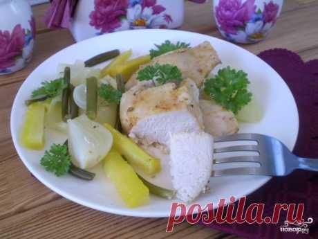 Курица с овощами в пароварке - пошаговый рецепт с фото на Повар.ру