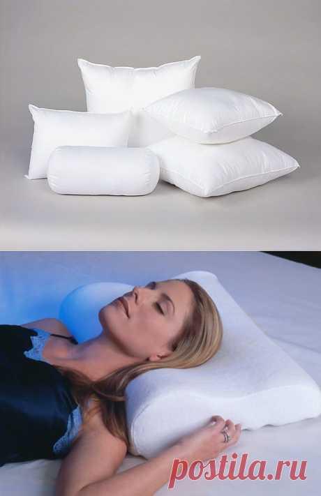 Выбираем подушку для сна / Домоседы