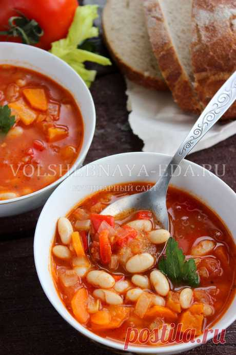 Фасолада, греческий фасолевый суп | Волшебная Eда.ру