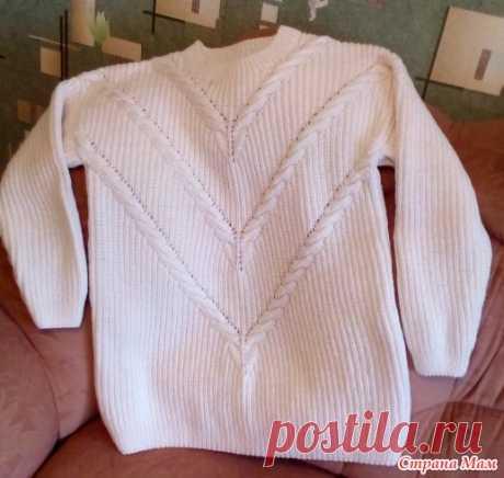Пуловер из старого журнала - Вязание - Страна Мам