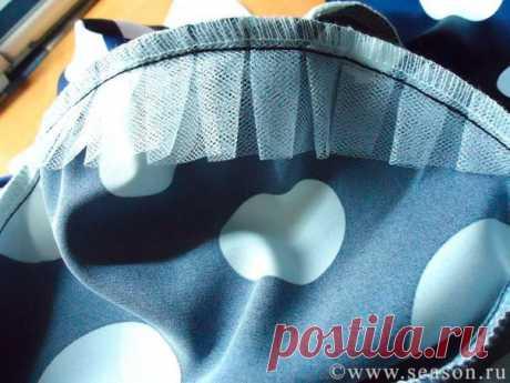 МК по пошиву мягкого подплечника для одежды из легких тканей