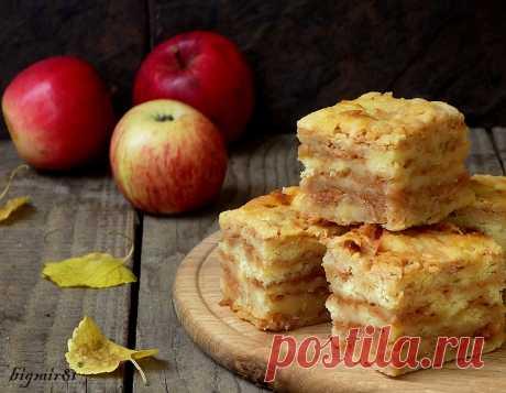 Насыпной яблочный пирог (без глютена) - Мой журнал — LiveJournal