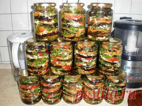 Баклажаны «Пальчики оближешь» Ингредиенты: Баклажаны – 3 кг морковь 1 кг зелень и чеснок — произвольное количество. Приготовьте баклажаны на зиму рецепт, попробовав эту отменную закуску, эта заготовка станет для Вашей семьи любимой. […]