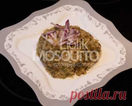 Шавла-маш или вегетарианский плов из маша