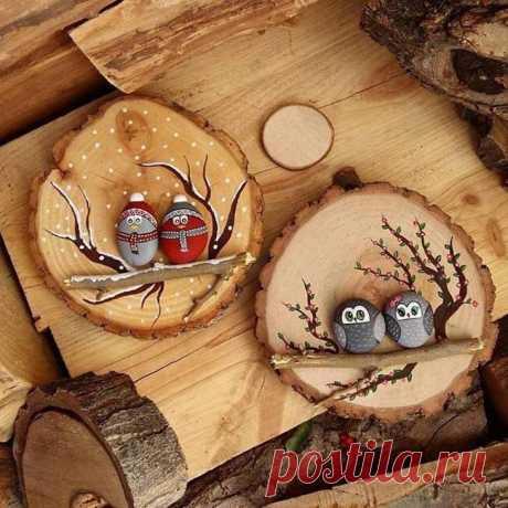 Оригинальные поделки из природного материала изготовленные своими руками