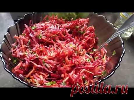Самый вкусный и полезный салат