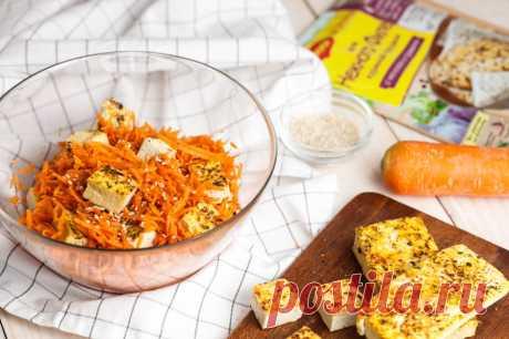 Салат с жареным тофу - пошаговый рецепт с фото - как приготовить, ингредиенты, состав, время приготовления - Mail Леди