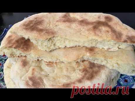 Хлеб больше не покупаю  ))Лепёшки за 10 минут на сковороде!