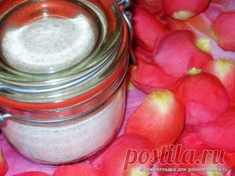 Сахарная пудра с ароматом розы • Разное
