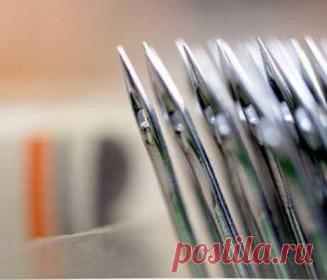 Как подобрать иглу для швейной машинки | Советы модницам