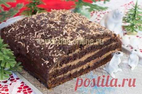 Невероятно нежный торт «Прага», который тает во рту!