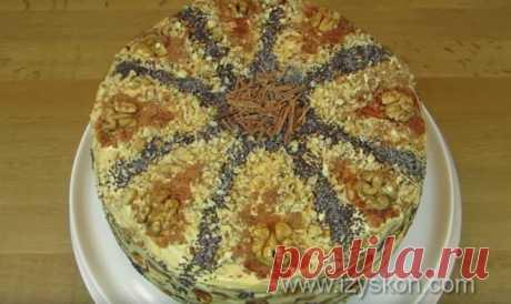 Торт «Дамский каприз»: пошаговый рецепт