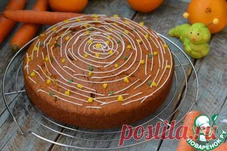 Морковный торт – кулинарный рецепт