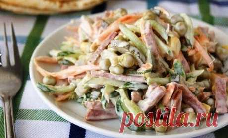 Любимый салат моей семьи 😍   Поварешка   Яндекс Дзен