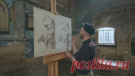 Пандемия и искусство: безработный художник учит рисовать онлайн Нельсон Феррейра потерял работу из-за пандемии, и за время изоляции создал онлайн-курс по рисованию, основанном на технике французского художника Шарля Барга