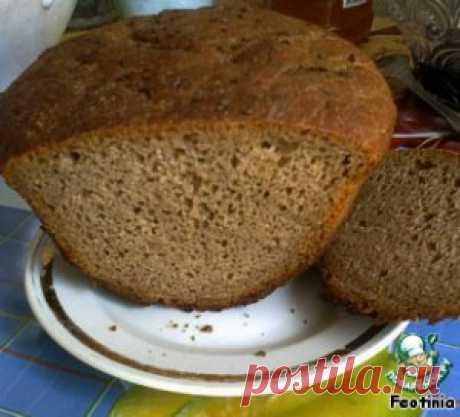 """Хлеб """"Бородинский"""" для духовки - кулинарный рецепт"""