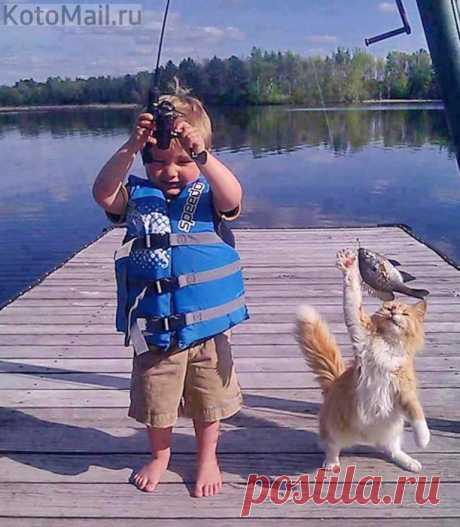 Удавшаяся рыбалка!