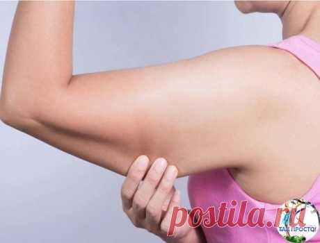 """Упражнение """"оса"""": избавит от дряблой кожи рук за неделю, уделяя 1 минуту в день"""