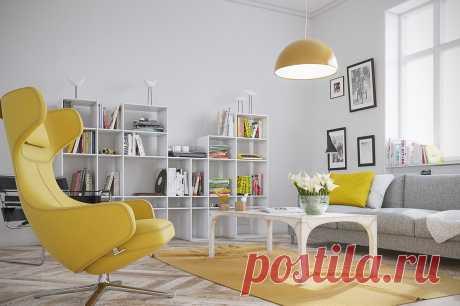Желтый цвет в фотографиях интерьеров - как и с чем сочетать мебель и обои узнайте на сайте Stone Floor в Туле  #желтыйинтерьер#желтыйпалитрыцветов#палитрыжелтого#счемсочетатьжелтый#Тула#Stonefloor