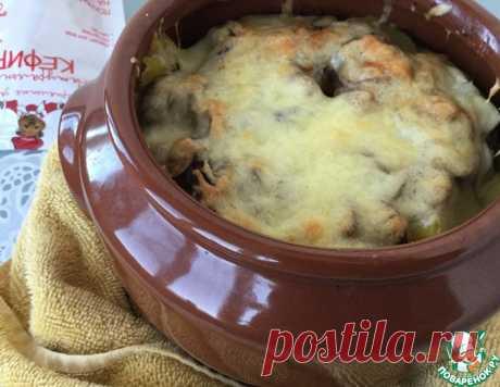 Горшочки с говядиной в кефире – кулинарный рецепт