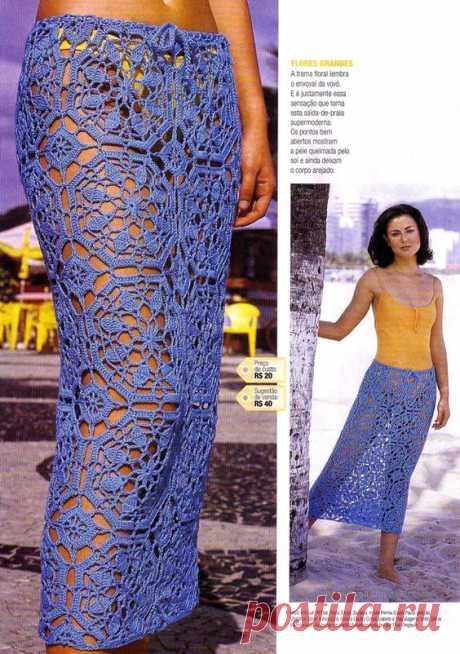 52 самых красивых юбки вязания крючком в Интернете! | Otakulandia.es