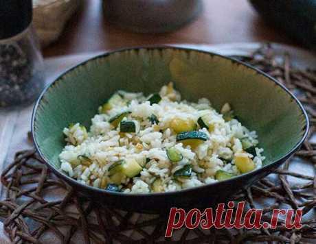 Рис с цукини - пошагово с фото от Maggi.ru