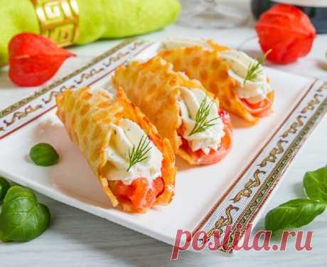 Отличная закуска с красной рыбой для Новогоднего стола | Готовить может каждый | Яндекс Дзен