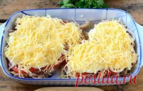 Как приготовить куриная грудка в шубке под сыром - рецепт, ингредиенты и фотографии
