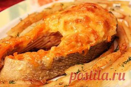 Рыба, запеченная с сыром | ArChiz