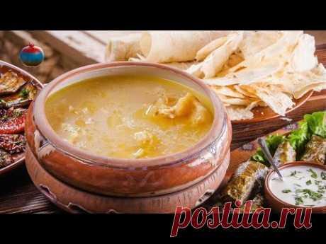Армянское национальное блюдо Хаш