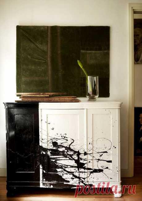 Мебель с сумасшедшинкой (подборка) Модная одежда и дизайн интерьера своими руками