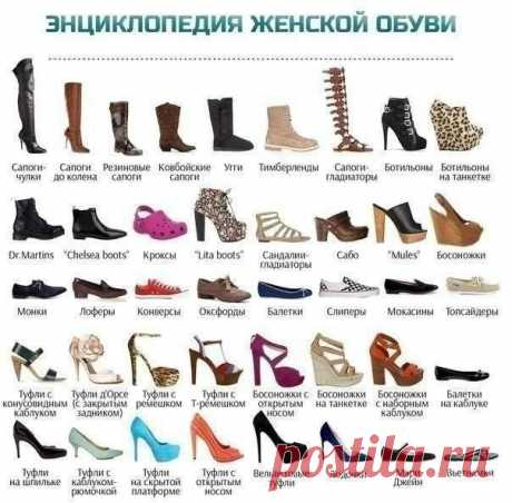 Энциклопедия женской обуви — Полезные советы