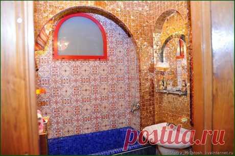 Облицовка чугунной ванны мозаикой.Часть 3.Внутренние углы