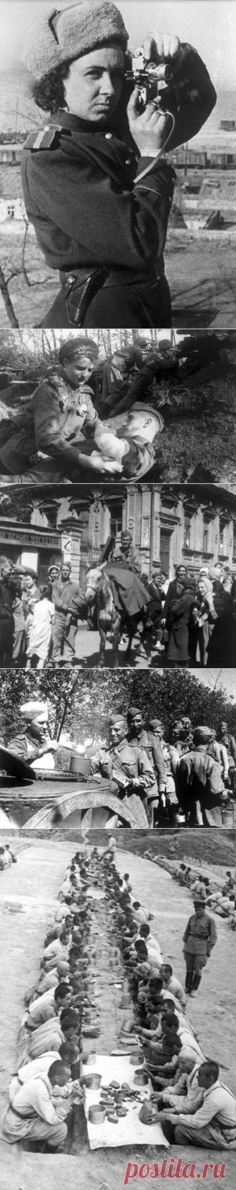Война на снимках женщины фотокорреспондента / Назад в СССР / Back in USSR