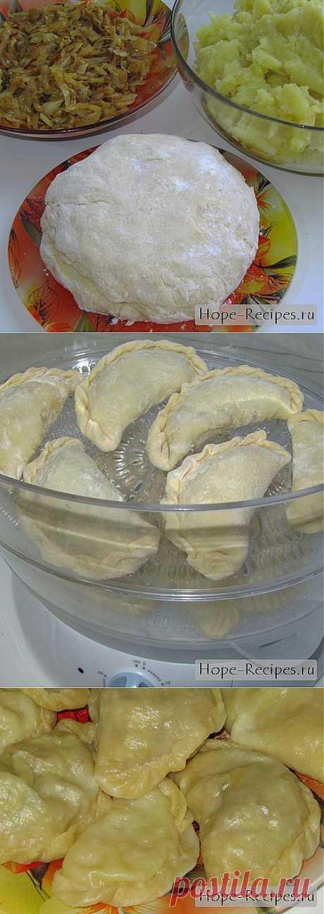 Вареники с капустой и картофелем в пароварке © Кулинарный блог #Рецепты Надежды