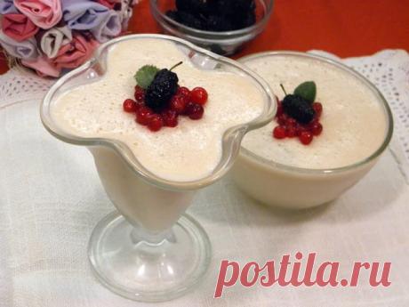 Десерт из ряженки — Sloosh – кулинарные рецепты