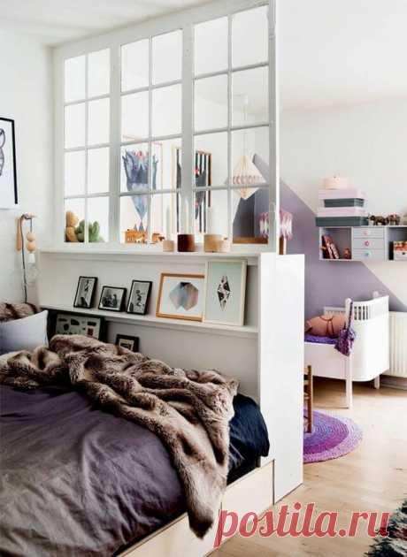Как зонировать кровать: 12 интересных приемов