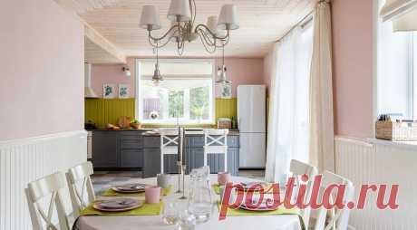 Секреты красивой отделки кухни вагонкой и 71 фото интерьеров Рассказываем, как с помощью вагонки оформить классную стильную кухню: от выбора материала до стилистических особенностей будущего пространства.