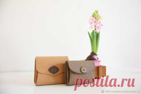 Как сшить кошелек из швейного крафта | Журнал Ярмарки Мастеров