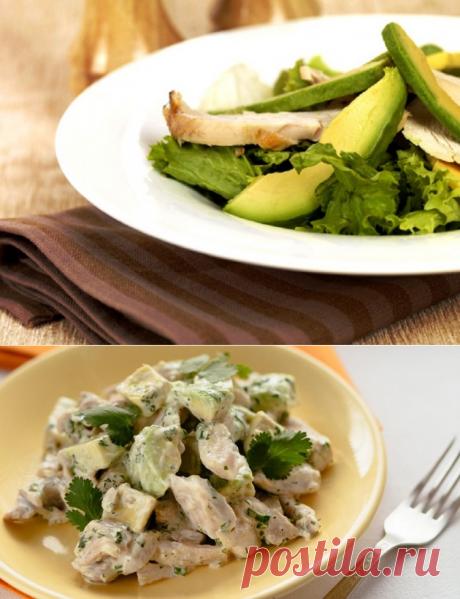 Салат с куриным филе / Простые рецепты