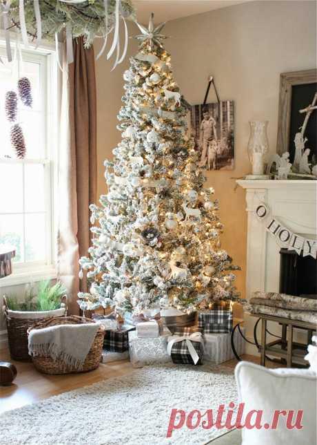 25 идей декора новогодней ёлки Как украсить новогоднюю елкув этом году? Для того, чтобы помочь Вам, мы подготовили несколько интересных идей. https://goodroom.com.ua/mag/25-idej-dekora-novogodnej-elki/