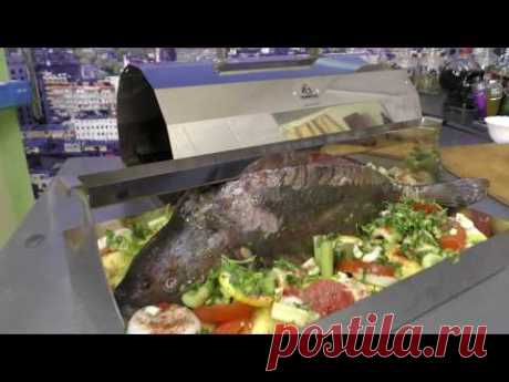 """Как приготовить вкусного карпа в печи """"Томилка"""" с овощами. Вкусный рецепт."""