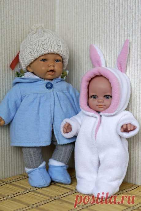 Базовые выкройки одежды на куклы пупса Paola Reina 22 см / Выкройки одежды для кукол-детей, мастер классы / Бэйбики. Куклы фото. Одежда для кукол