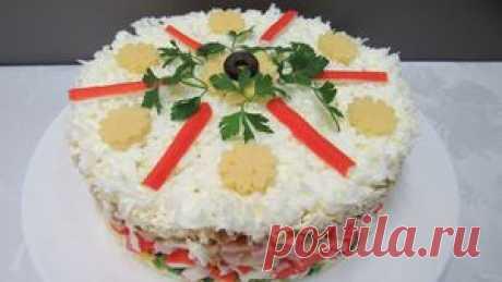 Снежная Королева - Новогодний салат для гурманов :) рецепт с фото